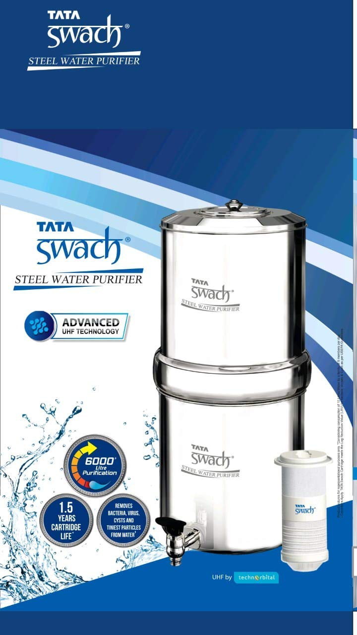 TATA Swach Stainless Steel Water Purifier