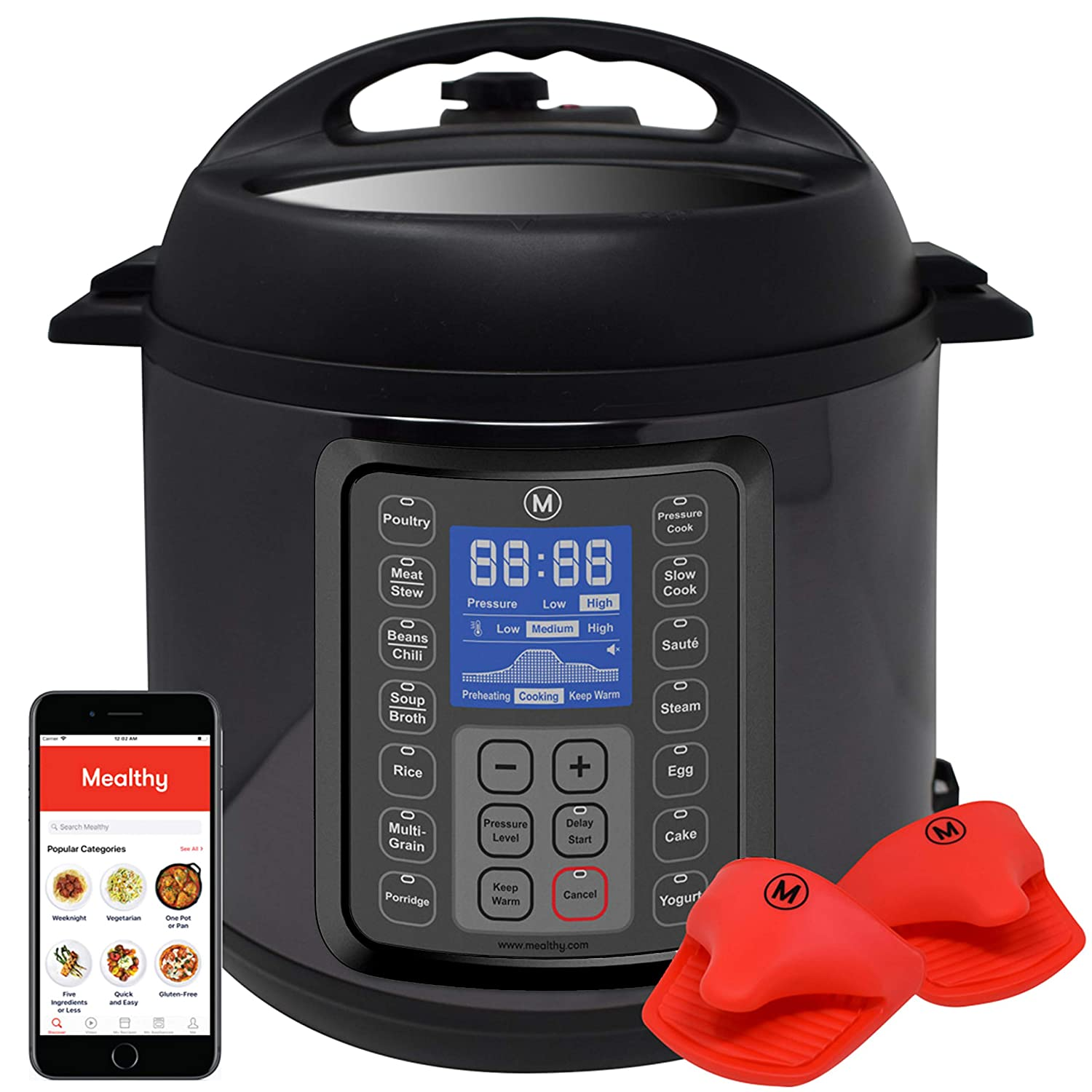 Mealthy Electric Pressure Cooker