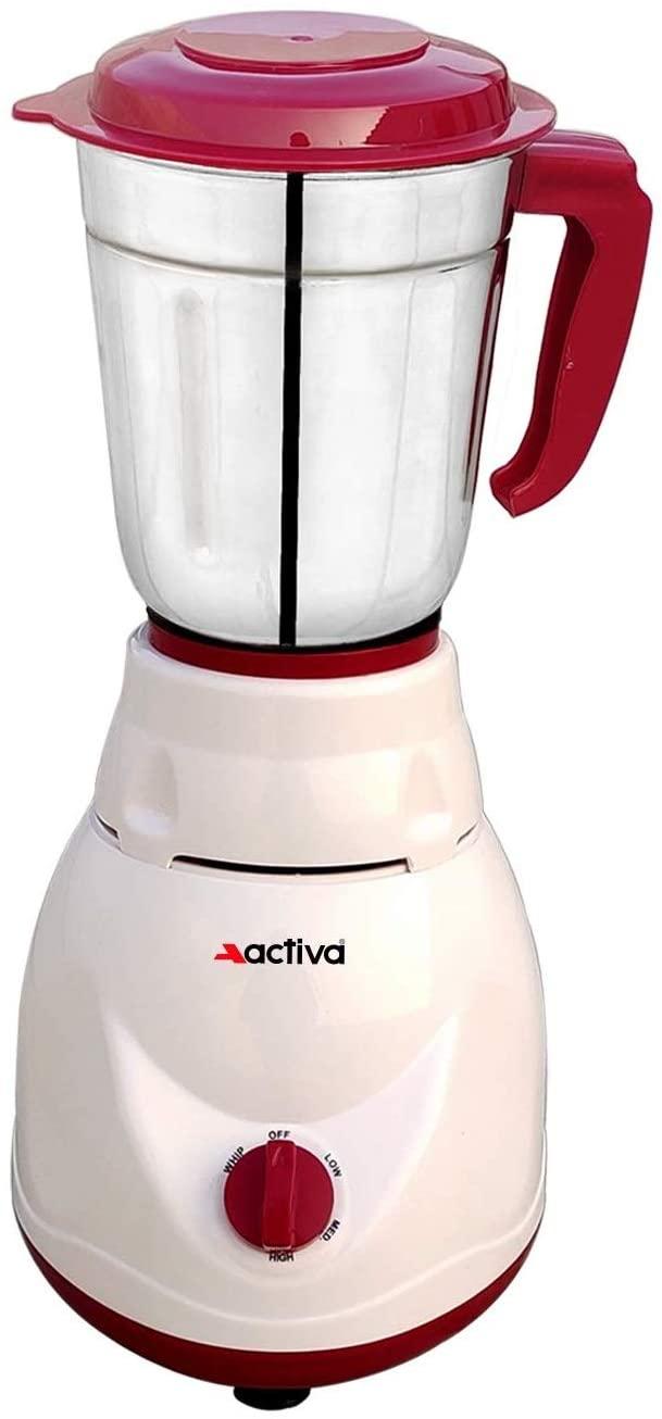 ACTIVA ACT_PLUTO_1 JAR 500W Mixer Grinder